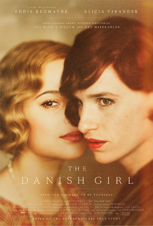 The Danish Girl (2016) Review.