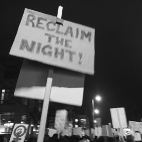 Reclaim The Night Manchester 2016